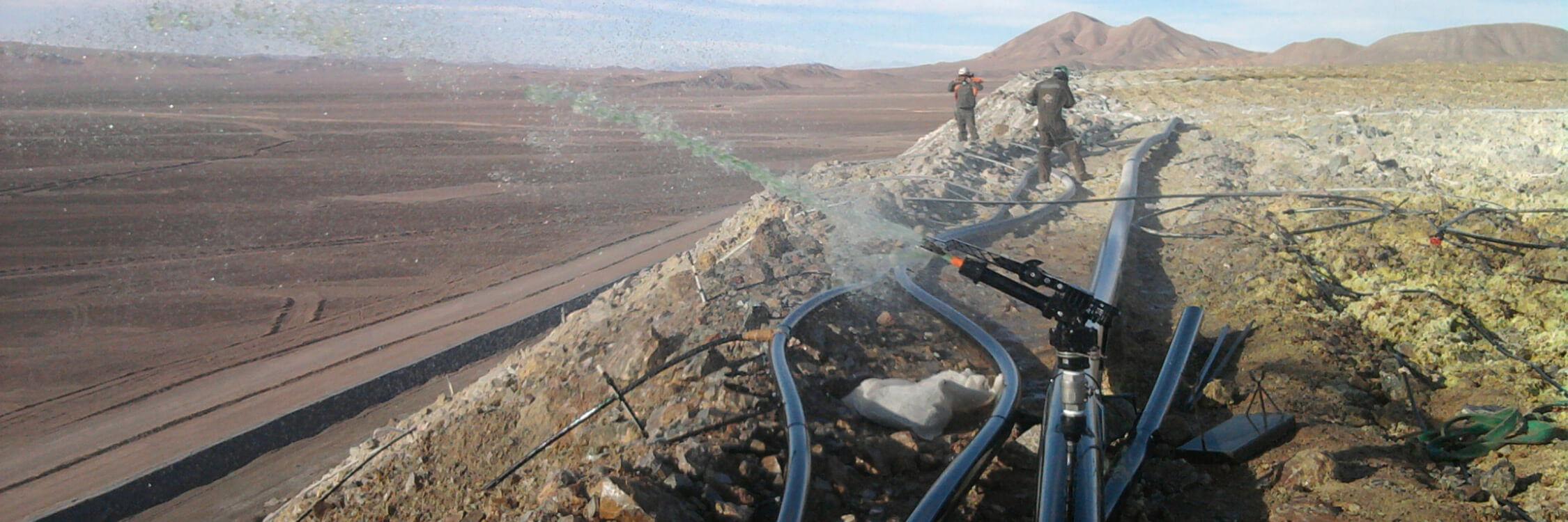 Leach-mining