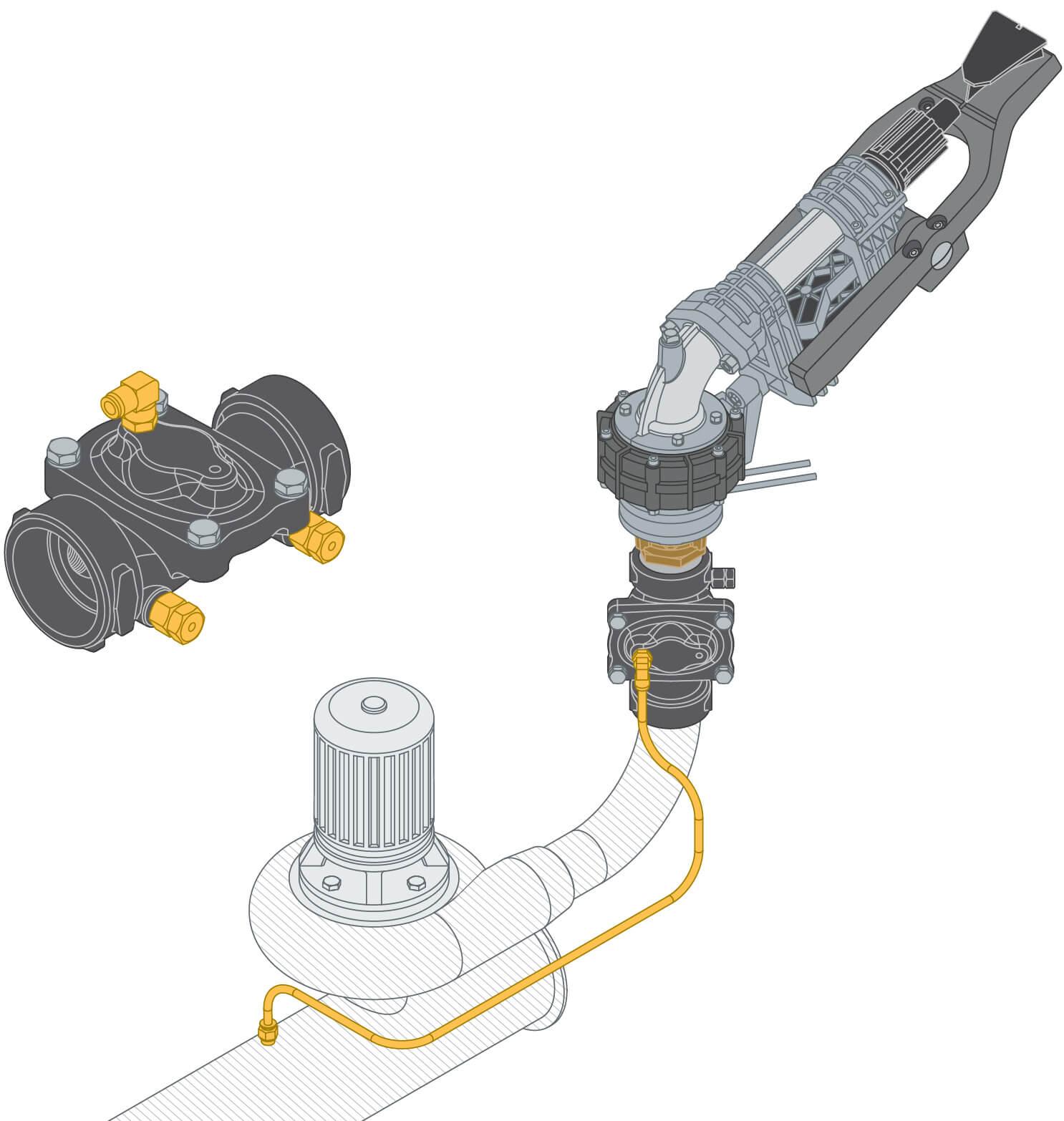 Komet 850 Valve - Differential Pressure Operation